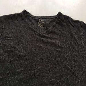 J Crew V Neck Tee Basic Minimal T Shirt Large L